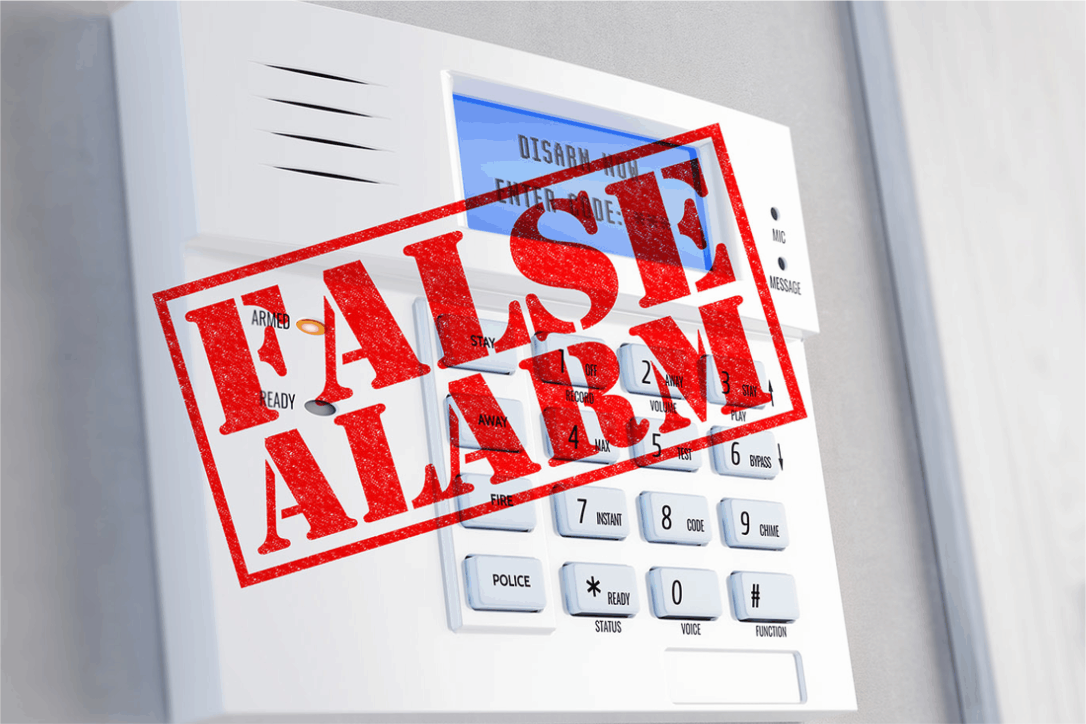 Less False Alarms